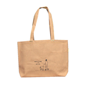 Folding type bag wide/WALKING with DOG