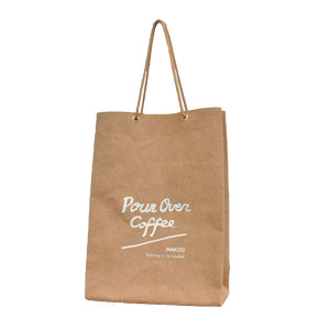 Shopping bag / M /Coffee